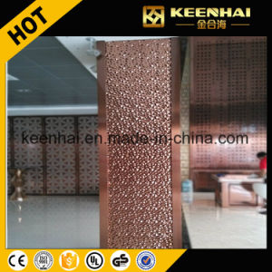 Decorative Embossed Finish Stainless Steel Square Column Cladding pictures & photos