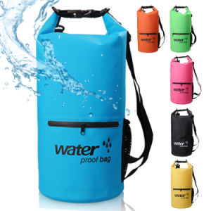Factory 500d PVC Promotion Outdoor Activities Waterproof Dry Bag Backpack pictures & photos