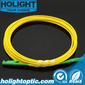Fiber Optic Patch Cord E2000A to E2000A Simplex Sm Yellow pictures & photos