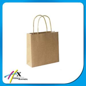 OEM Custom Design Kraft Paper Shopping Bag pictures & photos