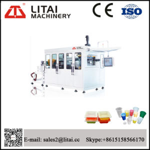 Manufacturer Price Plastic Cups Container Thermoforming Machine pictures & photos