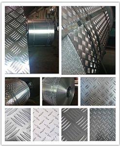 A1050 1060 1100 3003 3105 5052 Aluminium Checker Plate/Aluminium Tread Plate 5 Bar pictures & photos