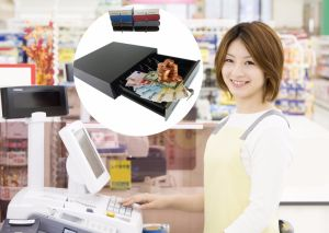 Wholesale Flip-Top Cashregister/Drawer/Box for POS Machine Electronic Open 6b8c pictures & photos