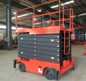 6-16metser Mobile Scissor Lift Working Platform with Ce Certificate pictures & photos
