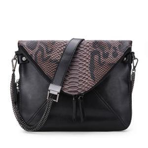 Boston Snake Leather Bag Handbag Shoulder Handbag Bag pictures & photos