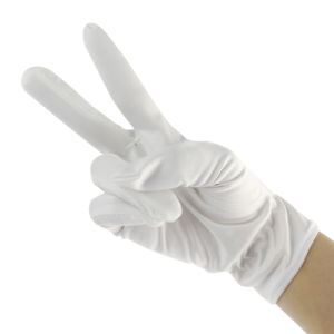 Cleanroom Lint-Free Microfiber Working Gloves pictures & photos