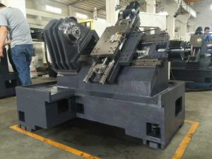 Horizontal CNC Lathe,  Turret Lathe Machine, CNC Turning Machine CNC Machining E45 pictures & photos