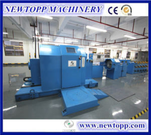 Xj-800mm Cantilever Single Twisted Cable Twisting Machine pictures & photos