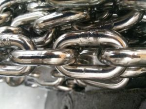DIN 5685 Oiled /Welded Steel Link Chain-Diameter 6mm pictures & photos