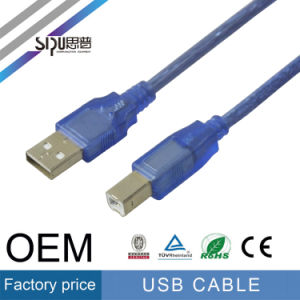 Sipu USB 2.0 Cable 6 FT Cable Cord Printer Scanner pictures & photos