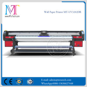 3.2 Meters UV Printer with with Epson Dx5 Dx7 Prinhead for Wall Paper Binds Soft Film Mt-Wall Paper UV3207de pictures & photos