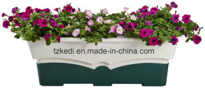 Rectangular Plastic Flower Pot (KD8330) pictures & photos