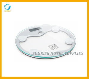 Hotel Bathroom Weighing Scale with LCD Display pictures & photos