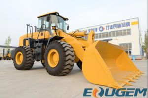 2017 New 5ton Front Wheel Loader Price List pictures & photos