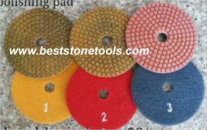 Diamond Flexible Wet Polishing Pads by 3 Steps