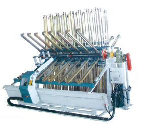 China Cheap manufacturer Bamboo Board Composer Machine Pine Panel Press Machines for Sale pictures & photos