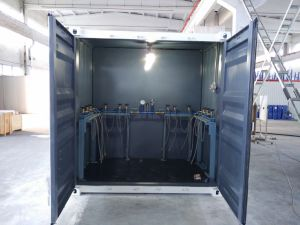 Medical Oxygen Generator with Cylinder Filling Station in Mobile Container pictures & photos