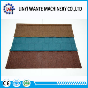 Water Resistance Colorful Stone Coated Metal Shingle Roof Tile pictures & photos
