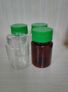 Pet 70ml Plastic Bottle for Health Medicine pictures & photos