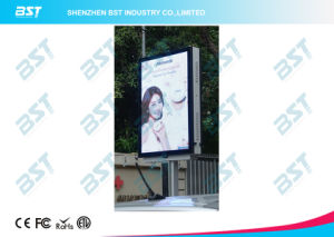 P8mm Street Poles Commercial Advertising LED Display Screen in Smart Phone Design pictures & photos