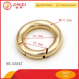 Zinc Alloy Spring O Ring Pass SGS Test pictures & photos