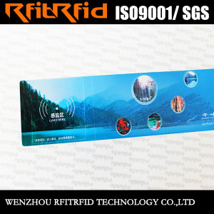 13.56MHz Glossy Paper RFID Tag Ticket for Vehicle pictures & photos