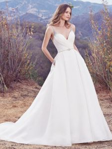 Embellished Diamond Bridal Wedding Dress pictures & photos