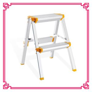Easy Store Indoor Used Aluminium Stool/Step Stairs pictures & photos