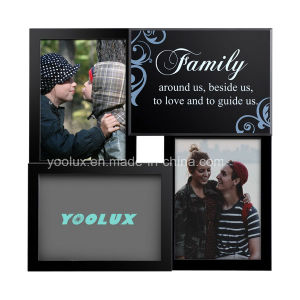 Plastic Frame Home Decoration Craft Promotion Gift Photo Frame pictures & photos