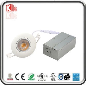 Energy Star Angle Adjustable Recessed LED Mini Downlight with Junction Box pictures & photos