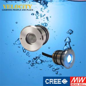 1W IP68 DC24V RGB LED Recessed Underwater Pool Light with Controller pictures & photos