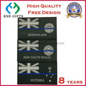 PVC Velcro Back/Magic Tape Rubber Patch/Garment Label pictures & photos