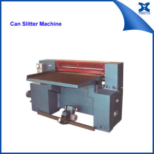 Aerosol Can Equipment Semi-Auto Metal Can Slitting Machine pictures & photos