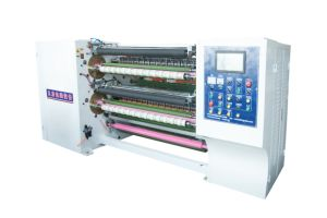 Super Clear Semi Automatic Tape Slitting Machine pictures & photos