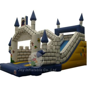 28′ Frozen Inflatable Bouncy Castle Slide for Party Toys (T4-610) pictures & photos