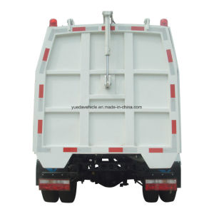 Side Loading Garbage Truck with JAC Chassis pictures & photos