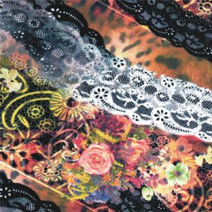 China Manufacturer Digital Print 100% Silk Fabric (XF-0065) pictures & photos