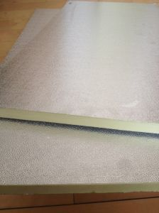 XPS Polystyrene Board with Galvanized Iron and Aluminum pictures & photos