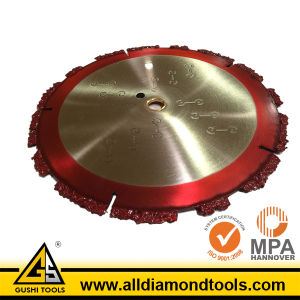 Ductile Diamond Circular Saw Blade for Cutting Iron pictures & photos