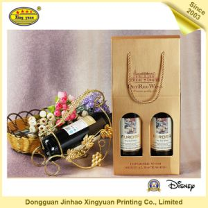 Wine Kraft Paper Bag (JHXY-17020302) pictures & photos