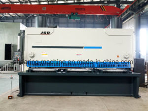 QC11y-40*4000 Hydraulic Nc Guillotine Shearing Machine for Cutting Steel pictures & photos