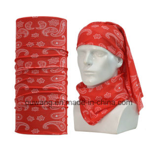 Cheap Custom Polyester Seamless Magic Scarf pictures & photos