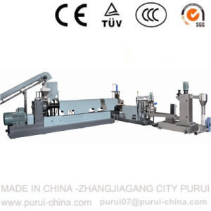 Waste Film Recycling Extruder with Single Screw Plastic Granulator pictures & photos