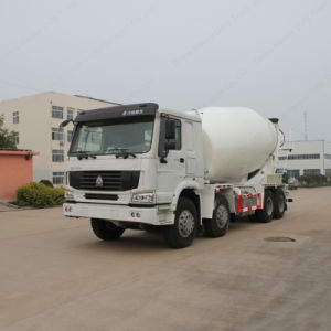 Sinotruk 8X4 12cbm HOWO Concrete Mixer Truck pictures & photos