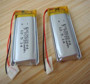 9X20X44mmpl902044 720mAh 3.7V Rechargeable Lithium Polymer Battery Cell with PCM and Wires pictures & photos