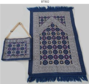 Muslim Prayer Rugs with Bag Bt802 pictures & photos