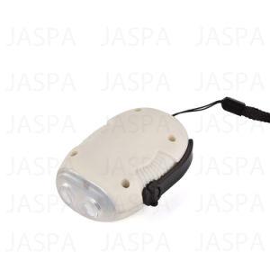 New Design ABS White LED Dynamo Flashlight pictures & photos