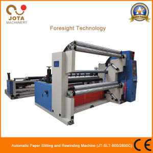 High Speed Shaftless Fiber Glass Mesh Slitting Machine Glass Paper Slitter Rewinder pictures & photos