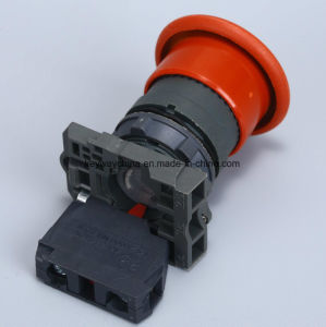 22mm Mushroom Type Pushbutton Switch pictures & photos