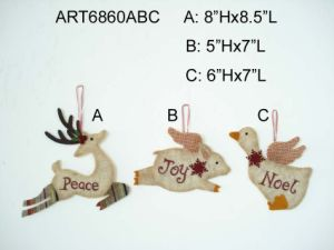 Happy Christmas Tree Decoration Ornaments-3asst pictures & photos